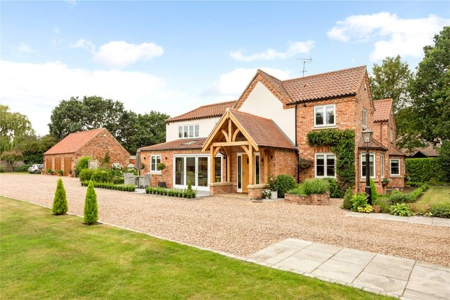 Thumbnail Detached house for sale in Brookfield House, Spalford Road, North Scarle, Lincoln
