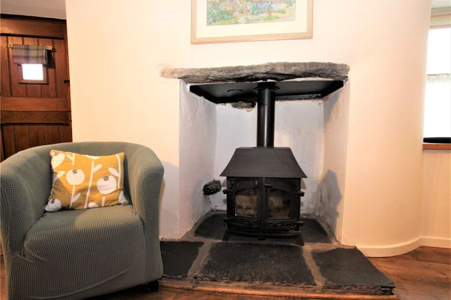 Logburner of Hill View Cottage, Bouth, Ulverston LA12