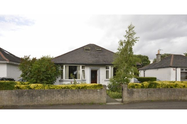 Thumbnail Detached bungalow for sale in Bucklaw Gardens, Glasgow