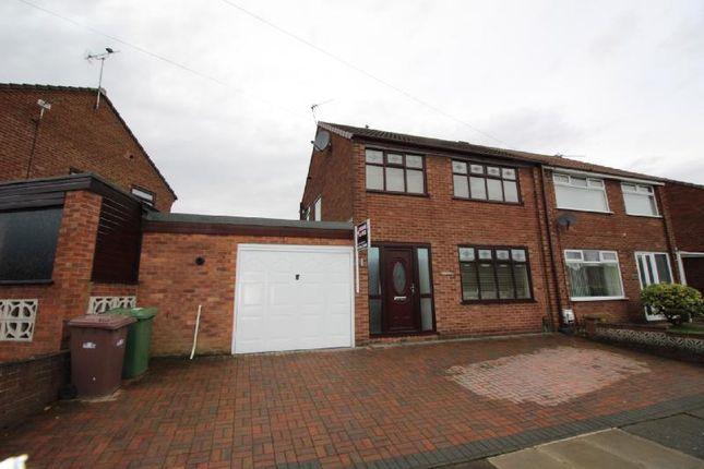 Thumbnail Semi-detached house to rent in Paisley Avenue, Laffak, St Helens
