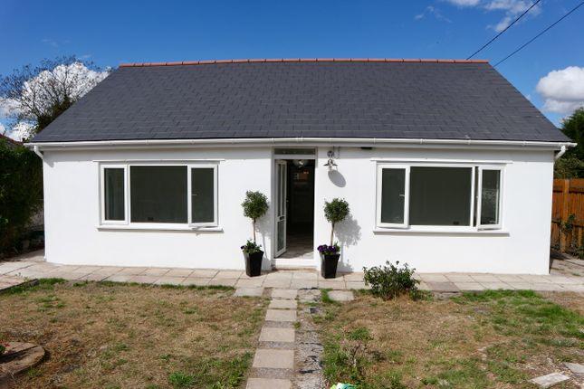 Thumbnail Detached bungalow for sale in Swansea Road, Merthyr Tydfil
