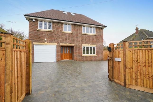 Thumbnail Detached house to rent in Woodham Road, Horsell, Woking, Surrey