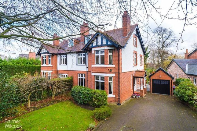 Semi-detached house for sale in Hazelhurst Road, Worsley, Manchester