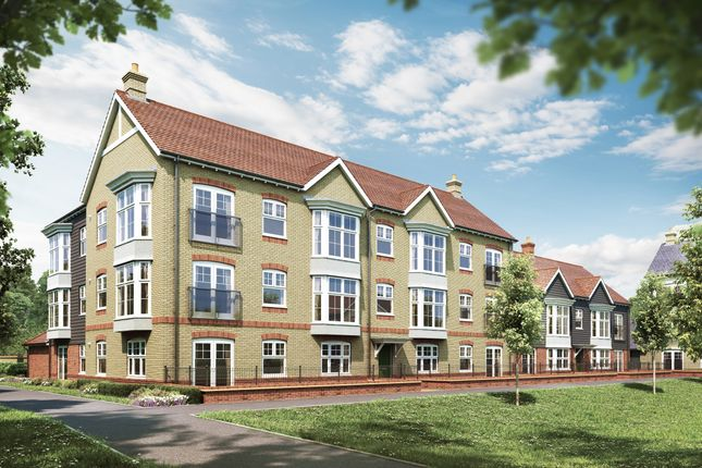 Thumbnail Flat for sale in The Mulberries Hatfield Road, Witham, Essex
