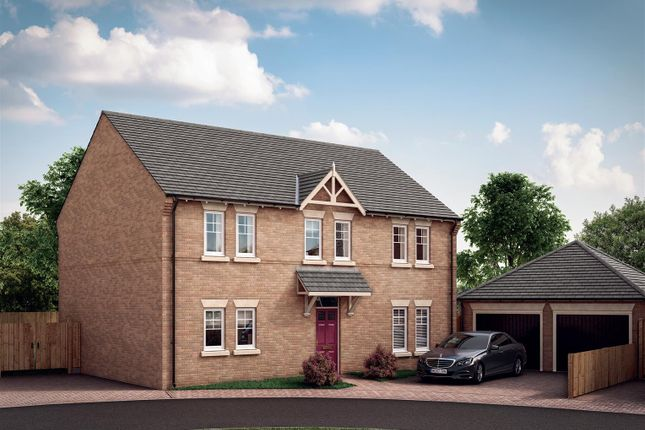 Thumbnail Detached house for sale in Old Bakery Close, Ratby, Leicester