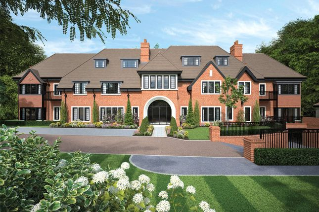 Thumbnail Flat for sale in Brockenhurst Road, Ascot, Berkshire