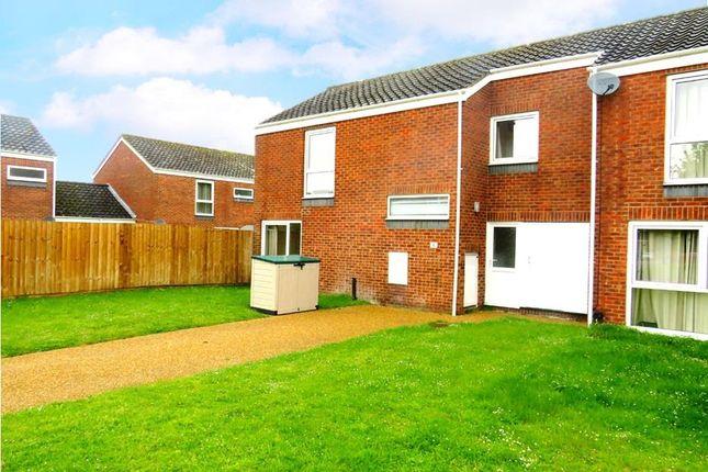 Thumbnail End terrace house to rent in Chestnut Way, RAF Lakenheath, Brandon