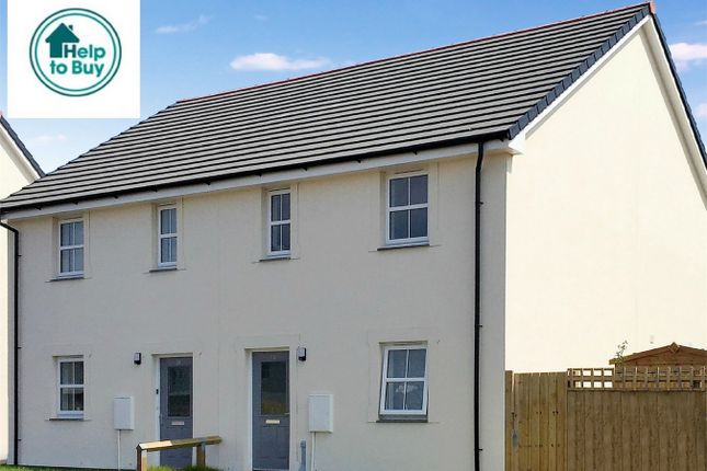Thumbnail Semi-detached house for sale in Trecarrack Road, Pengegon, Camborne
