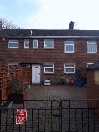 Thumbnail Terraced house for sale in Hesleyside, Ashington