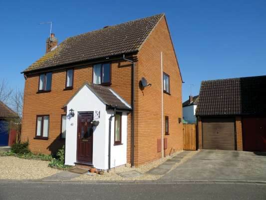 Thumbnail Detached house to rent in Canonsfield, Werrington, Peterborough