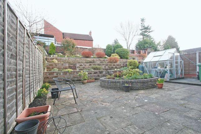 Rear Garden of Stourbridge, Lye, Morvale Gardens DY9