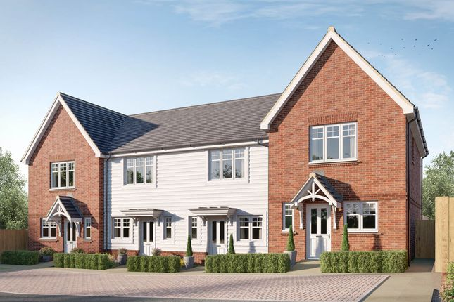 Thumbnail Terraced house for sale in Worthing Road, Southwater, Horsham