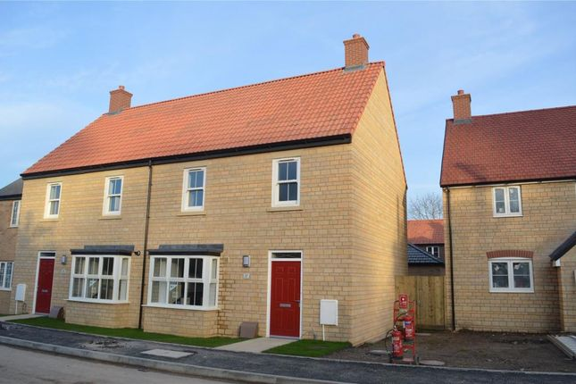 Thumbnail End terrace house for sale in Long Orchard Way, Martock, Somerset, Mertoch Leat