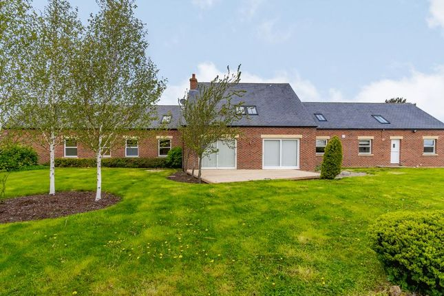 Detached house for sale in Whalton, Morpeth