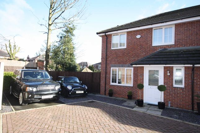 Thumbnail Semi-detached house to rent in Knights Grove, Swinton, Manchester