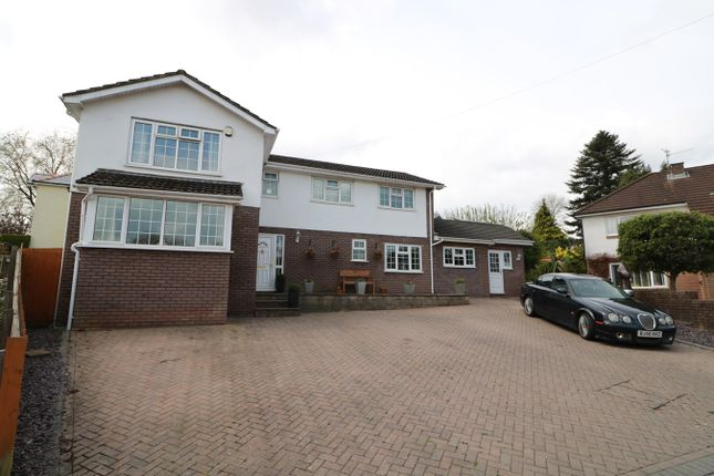 Thumbnail Detached house for sale in Penywaun Close, St Dials, Cwmbran