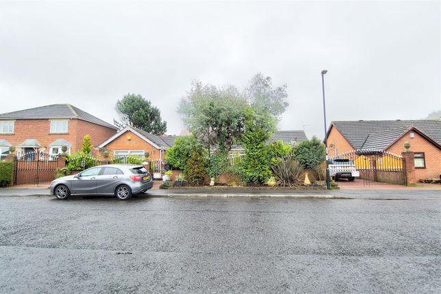 Thumbnail Detached bungalow for sale in Montrose, The Lyons, Easington Lane, Houghton Le Spring