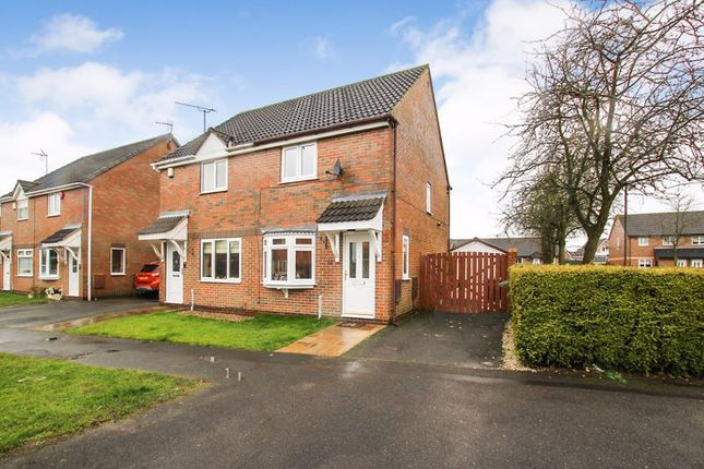 Thumbnail Semi-detached house to rent in Kirk Close, Ripley