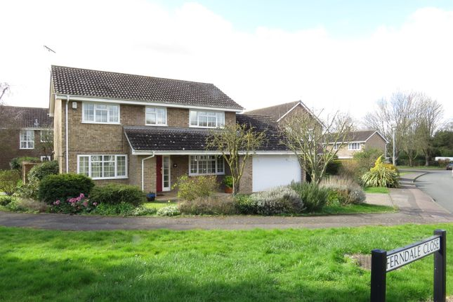 Thumbnail Detached house for sale in Ferndale Close, Newmarket
