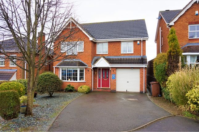 Thumbnail Detached house for sale in Newby Close, Burton-On-Trent