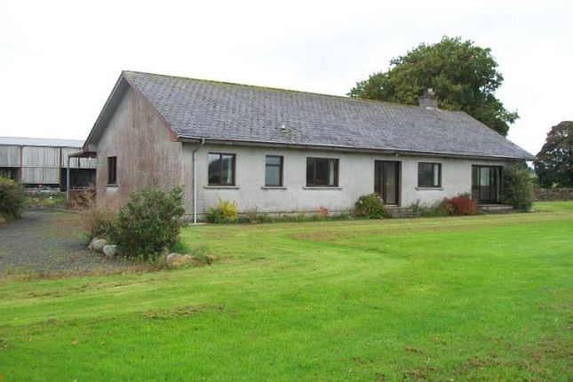 Thumbnail Detached bungalow to rent in Challoch, Newton Stewart