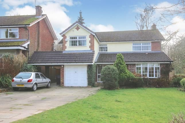 Thumbnail Detached house for sale in Woodlands Road, Handforth, Cheshire, .