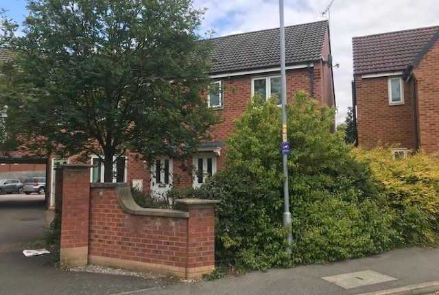 Thumbnail Semi-detached house to rent in Hudson Way, Grantham