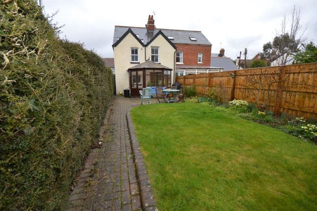 Thumbnail Semi-detached house for sale in Paynes Cottages, Longmeadow Road, Lympstone, Exmouth