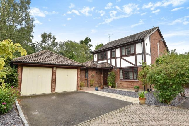 Thumbnail Detached house for sale in Badgers Copse, Camberley