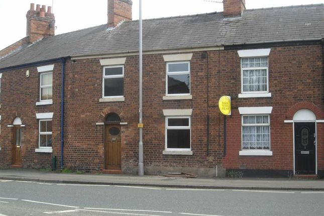 Thumbnail Terraced house to rent in Crewe Road, Nantwich, Cheshire