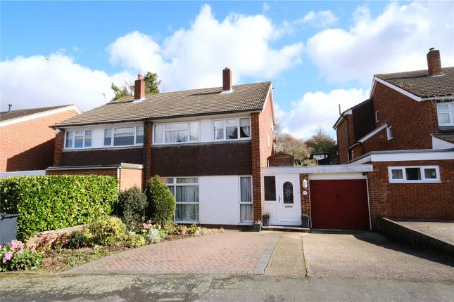 Thumbnail Semi-detached house for sale in Drudgeon Way, Bean, Kent