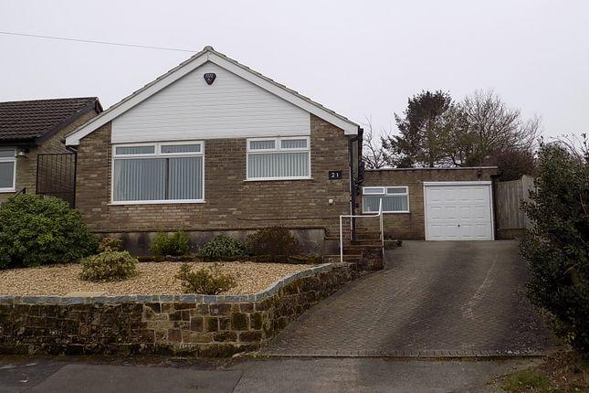 Thumbnail Detached bungalow for sale in Wheeldon Way, Hulland Ward