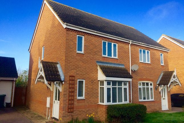 Thumbnail Semi-detached house for sale in York Close, London Road, Biggleswade