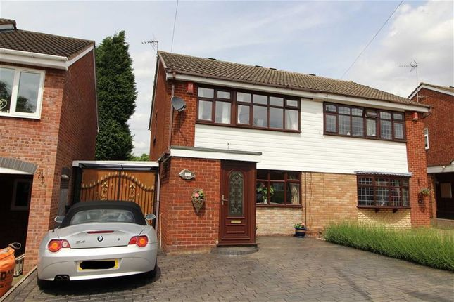 Thumbnail Semi-detached house for sale in Northway, Sedgley, Dudley