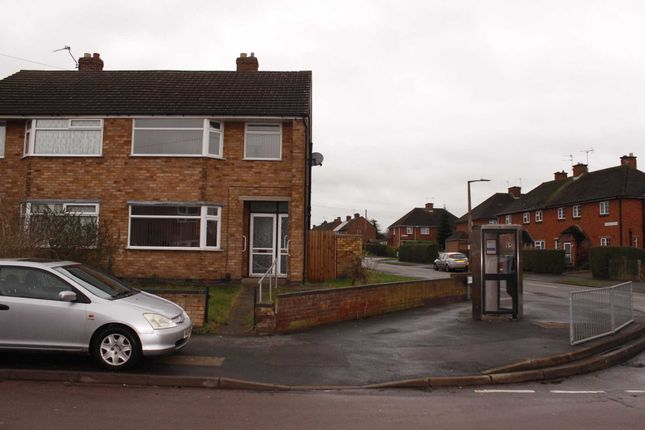 Thumbnail Semi-detached house to rent in Sandiacre Drive, Thurmaston, Leicester