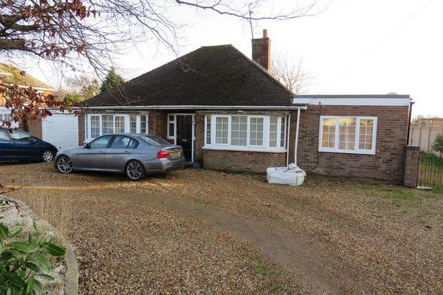 Thumbnail Bungalow to rent in Coates Road, Coates, Peterborough