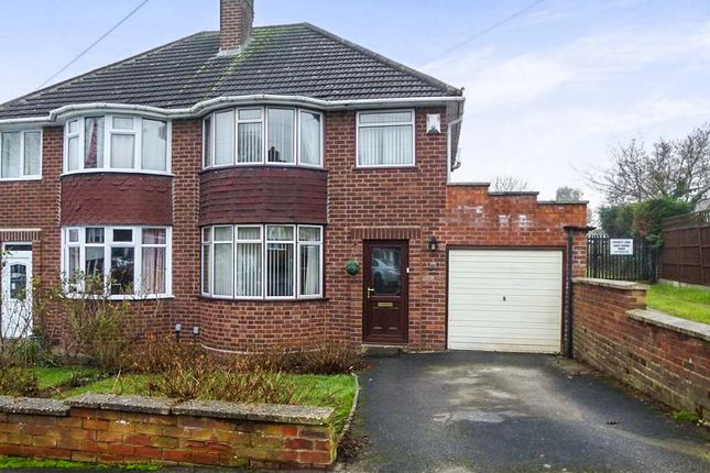 Thumbnail Semi-detached house for sale in Victor Road, Solihull