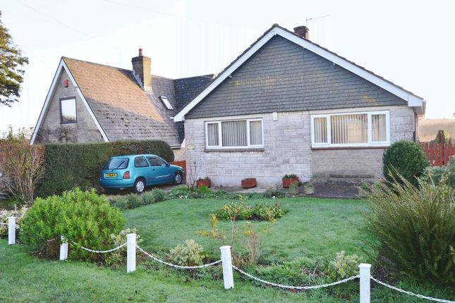 Thumbnail Detached bungalow for sale in Rew Street, Gurnard, Cowes