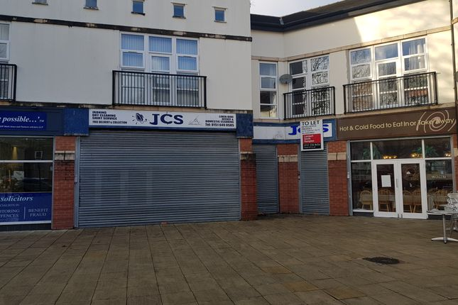 Retail premises to let in Price Street, Birkenhead