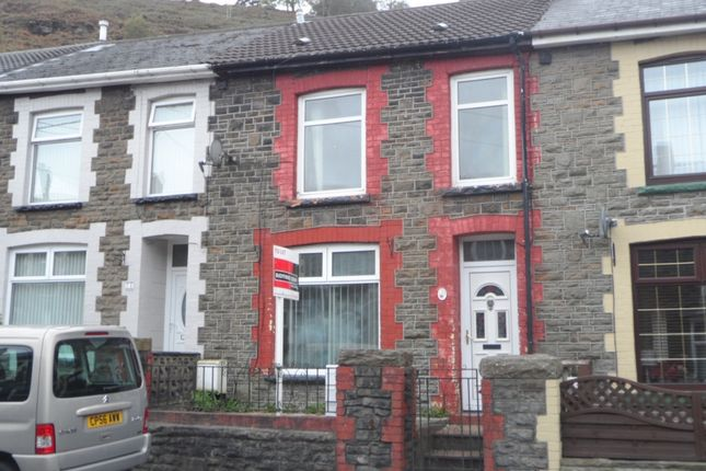 Thumbnail Terraced house to rent in Cilhaul, Mountain Ash