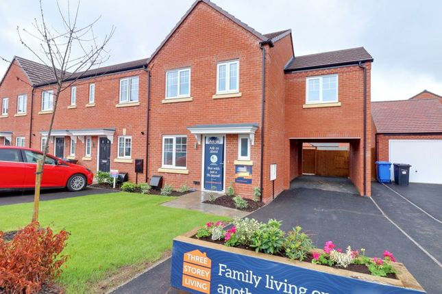 3 bed end terrace house for sale in Dowling Drive, Fradley, Lichfield WS13