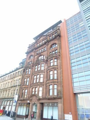 Thumbnail Penthouse to rent in York Street, Glasgow