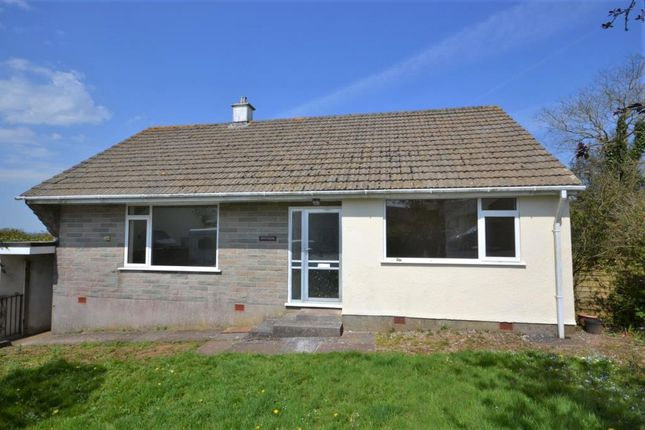 Thumbnail Detached bungalow to rent in Pengelly, Callington, Cornwall