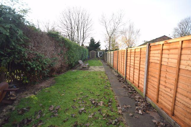Rear Garden of Worthington Street, Whitchurch SY13