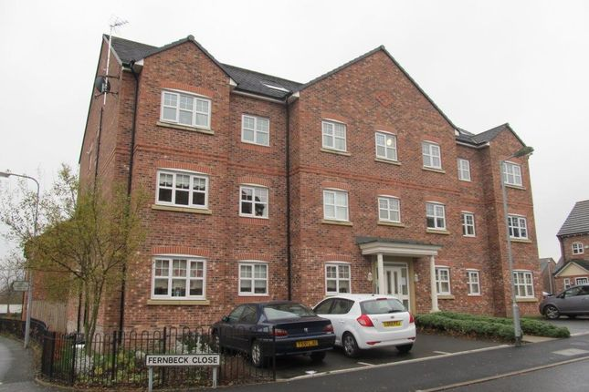 Thumbnail Flat to rent in Fernbeck Close, Farnworth, Bolton