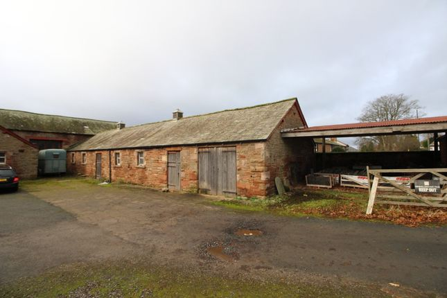 Thumbnail Land for sale in Barns Adjacent To Linden House, Temple Sowerby, Penrith