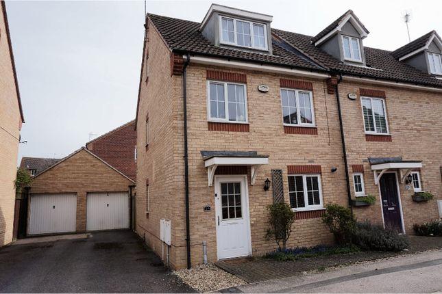 Thumbnail Semi-detached house for sale in Jubilee Gardens, Rushden