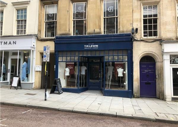 Thumbnail Retail premises to let in Milsom Street, Bath
