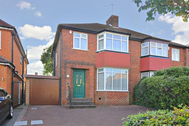3 bed semi-detached house for sale in Lonsdale Drive, Enfield