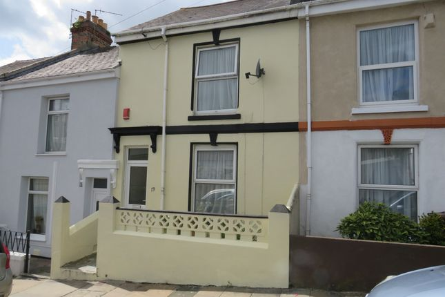 Thumbnail Terraced house for sale in Alfred Road, Plymouth
